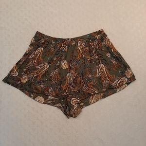 Plus 2XL Haute Fox Shorts Olive
